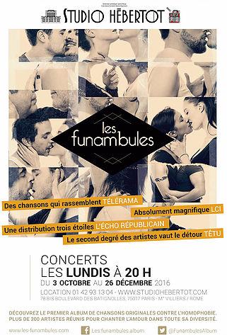Affiche Funambules - Studio Hébertot.indd